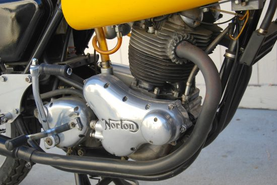 1971 Norton Commando Racer R Side Engine