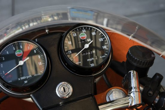 1974 Laverda SFC L Clocks