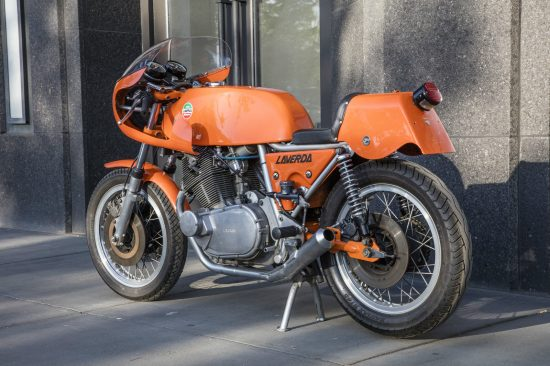 1974 Laverda SFC L Side Rear