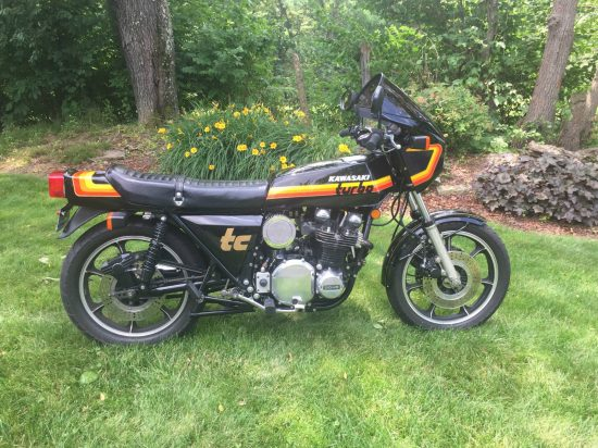 1979 Kawasaki Z1R Turbo R Side
