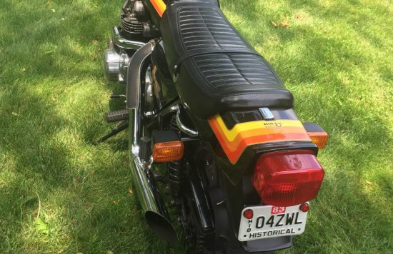 1979 Kawasaki Z1R Turbo Rear