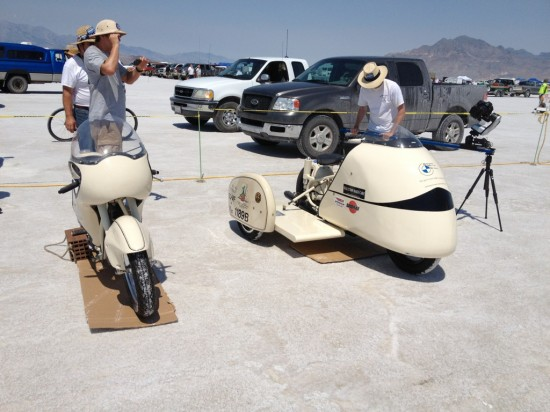 Four times successful at Bonneville in 2012
