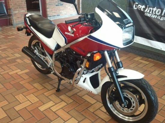24 miles since 1984 Honda Interceptor for sale
