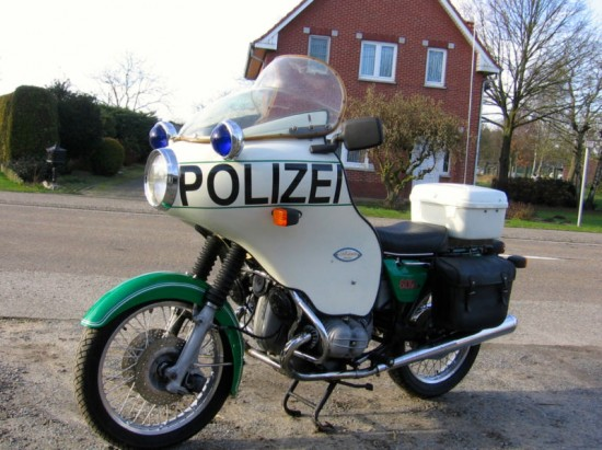 1975 BMW R60/6 Polizei For Sale