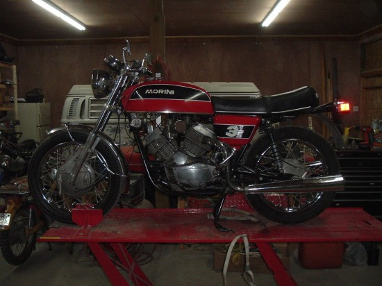 1974 Moto Morini 3½ Strada for Sale